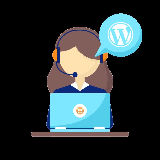 Voordelige WordPress support